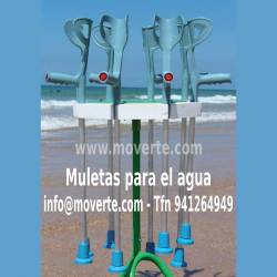 Kit Muletas Anfibias - Ortopedia Moverte