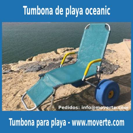 Tumbona para discapacitados Oceanic Sun - Novaf