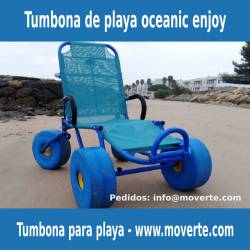 Silla de ruedas de playa Oceanic Enjoy