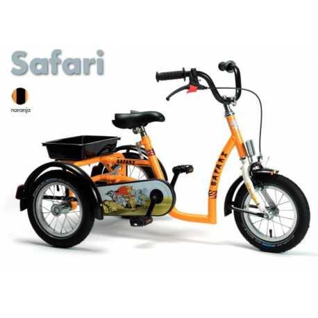 Triciclo  SAFARI Modelo Unisex.