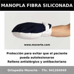 Manopla fibra siliconada