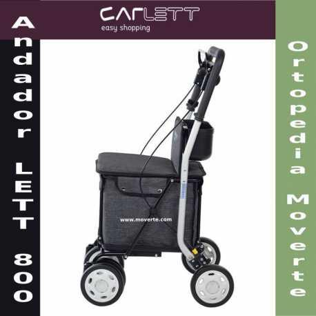 Nuevo andador carrito de compra Lett 800