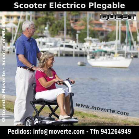 Scooter plegable y pequeño Quest