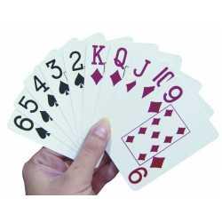 Cartas De Poker Con Números Grandes - Able2