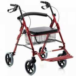 Andador que se convierte en silla de ruedas
