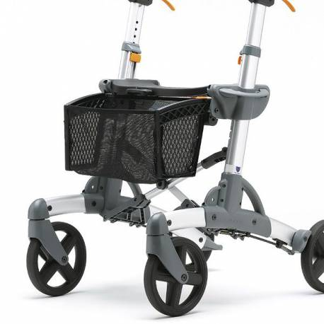 Bolsa cesta delantera de tejido para rollator Volaris