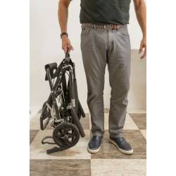 Silla de ruedas plegable silla ruedas coche