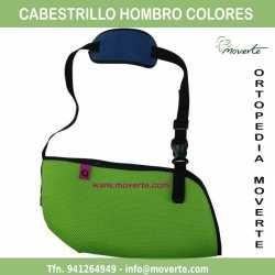 Cabestrillo inmovilizador de hombro-colores
