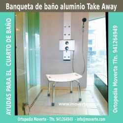 Banqueta de baño Take Away