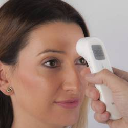 Termómetro infrarrojo frontal