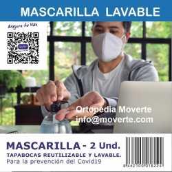 Mascarilla-cubreboca facial para Coronavirus