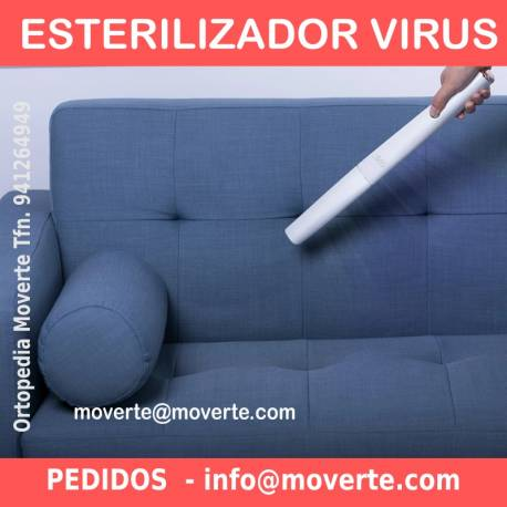 Esterilizador portátil Ultravioleta UVC LED