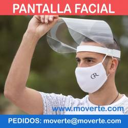 Pantalla Facial abatible personalizable