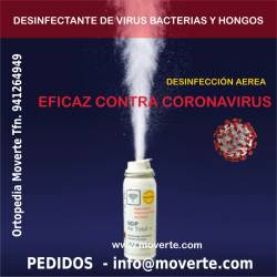 DESINFECTANTE AEREO DE CORONAVIRUS