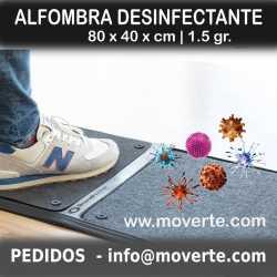 ALFOMBRA DE DESINFECCIÓN 2 CUERPOS