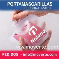 PORTA MASCARILLAS PERSONALIZABLE DE BOLSILLO