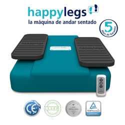 Happylegs Azul - Aparato de Gimnasia para mover las piernas