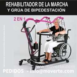 ENTRENADOR REHABILITADOR DE MARCHA Y GRÚA