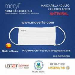 MASCARILLA MERYL 100 LAVADOS ANTIVIRAL