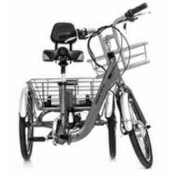 Sillín con respaldo para triciclo y bicicleta