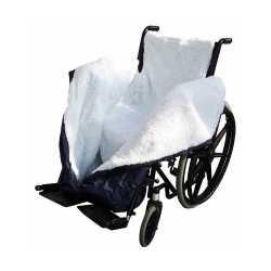 Saco Térmico Impermeable con borreguito para silla de ruedas