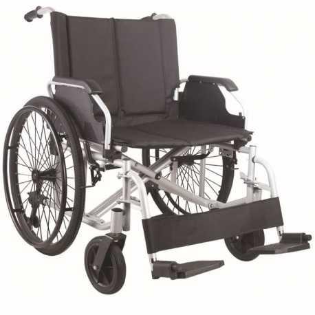 Silla de ruedas bariátrica de acero