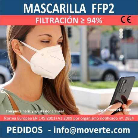 Mascarilla EPI Protección FFP2