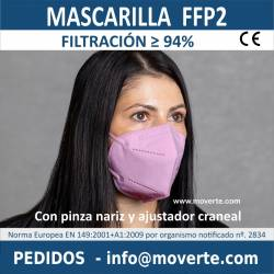 20 MASCARILLAS FFP2 EPI EN DISTINTOS COLORES