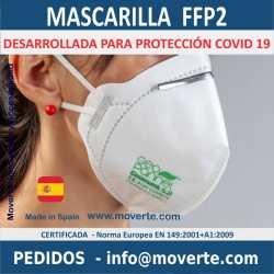 Mascarilla FFP2 Anti Covid de 7 capas