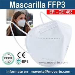 Mascarilla FFP3 EPI 5 Capas CE