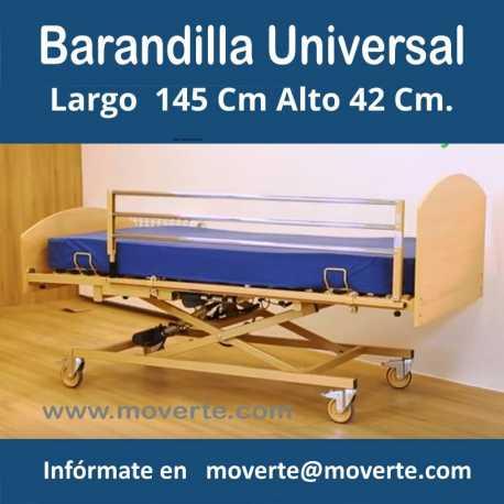 Barandilla abatible universal (unidad)