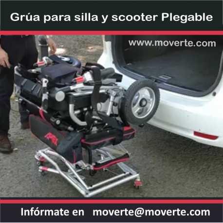 Grúa Elevador scooter y silla ruedas