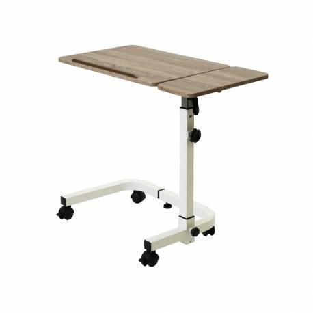 Mesa pequeña auxiliar con doble tablero