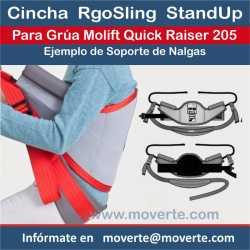 Cinchas con soporte Nalgas RgoSling StandUp