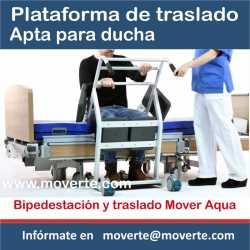 Plataforma de traslado pacientes hasta 180 Kg.