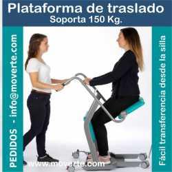 Plataforma de transferencia y traslado pacientes Plus