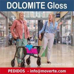 Rollator plegable y ancho Dolomite Gloss