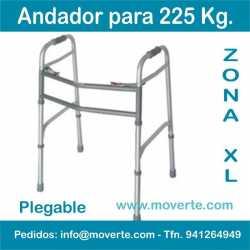 Andador Bariátrico 225 Kg. Andador plegable barato