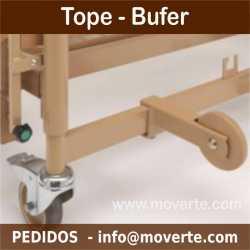 Tope Buffer cama Alura Low XL