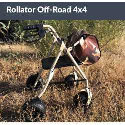 Rollator todo terreno 4x4