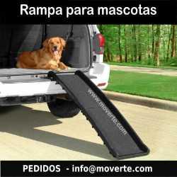 Rampa plástico para perros 156x40 cm.