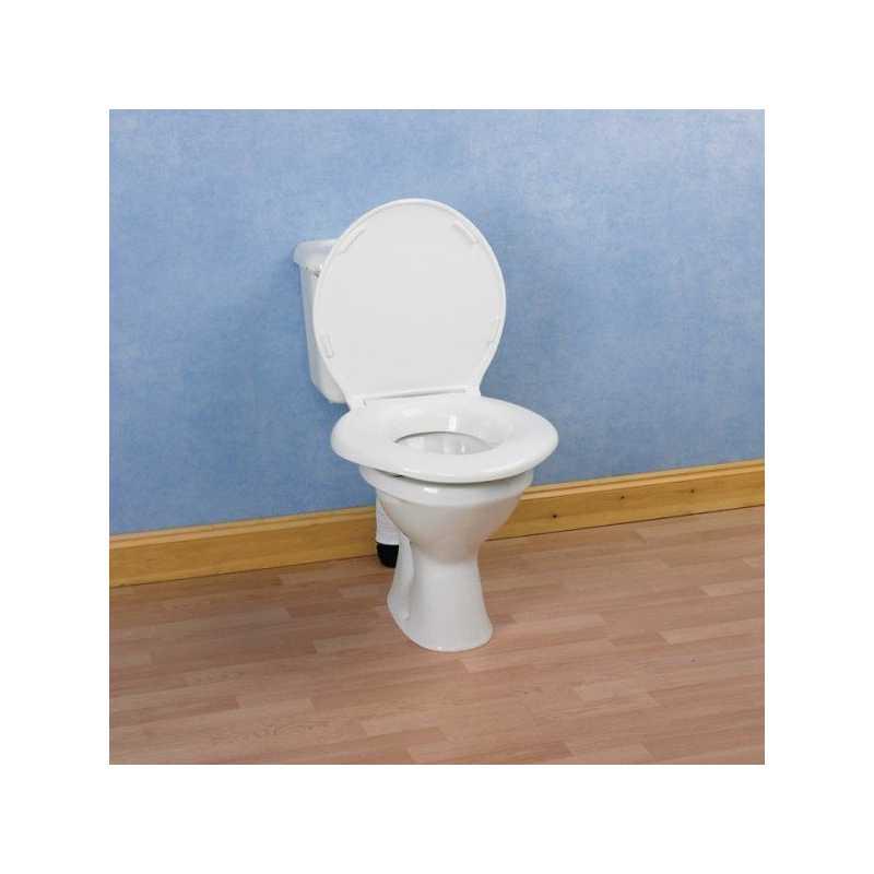 Asiento para wc big john ayudas dinamicas for Sillas wc para enfermos