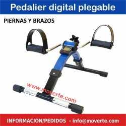 Pedalier digital plegable