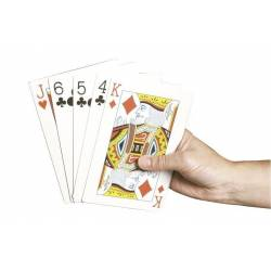 Baraja De Cartas De Poker Extragrande - Able2