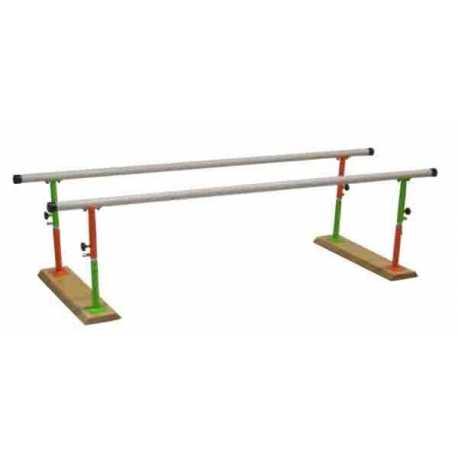 Paralela infantil plegable y regulable en altura - 3 m