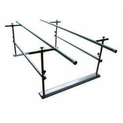Paralela de 3 m plegable regulable en altura y anchura