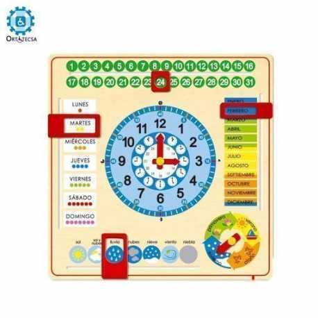 Reloj Con Calendario