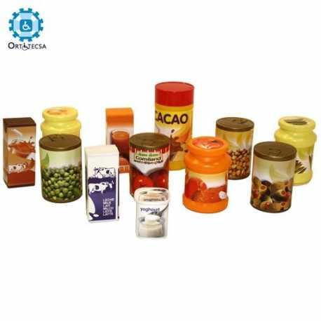 Alimentos Envasados (12 Botes Y Bricks)