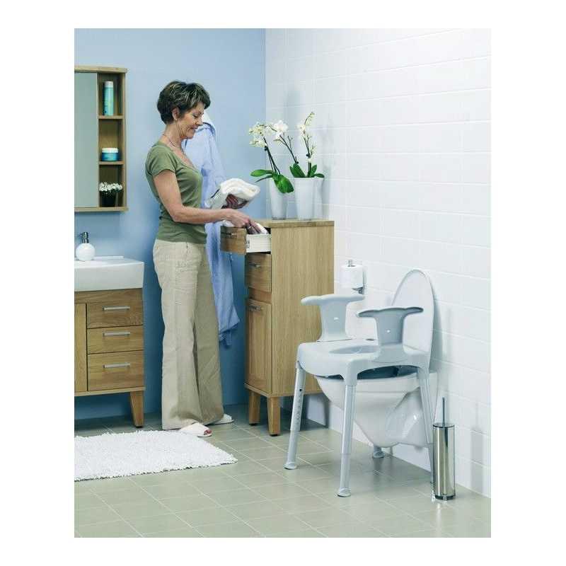 Silla De Baño Con Inodoro:Silla De Baño Comode Práctica Ad500