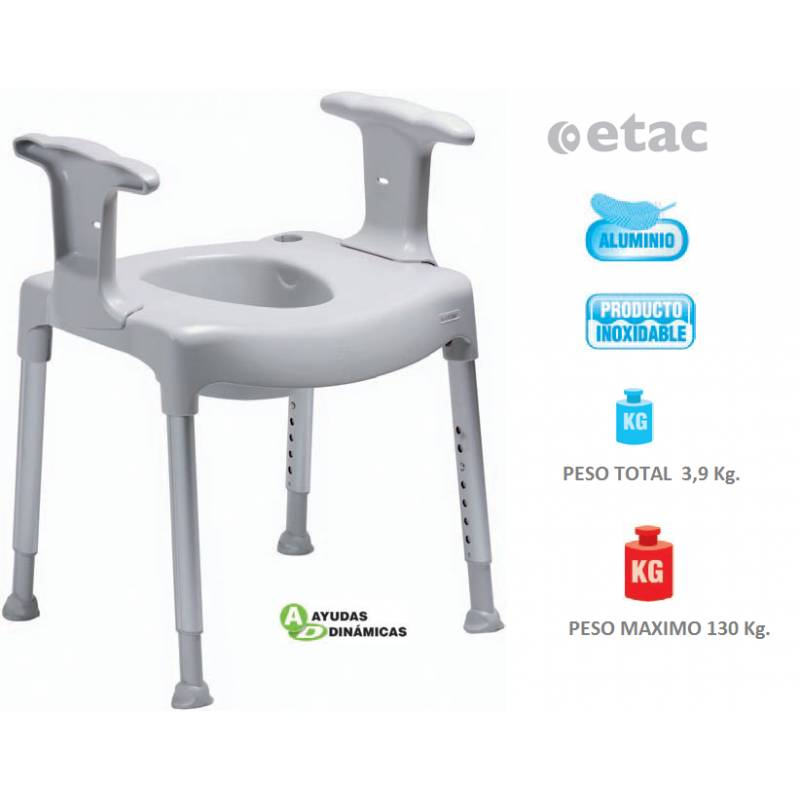 Silla de ba o comode pr ctica ad500 for Sillas para water